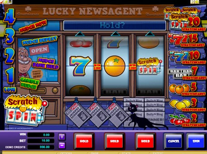 Scratch n Spin Online Slot Reviews with Ultimate Fun